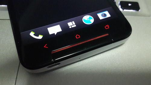ปุ่มกดบน HTC Butterfly S