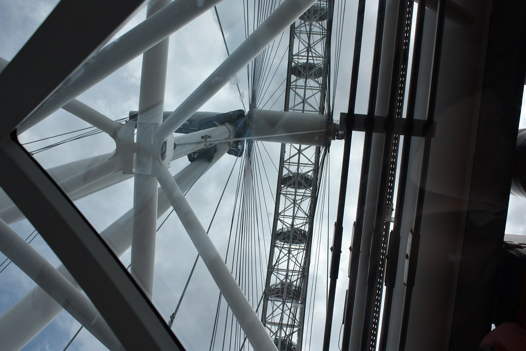 London Eye from the inside