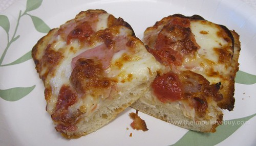 Domino's Sandwich Slice Italian Club Halves