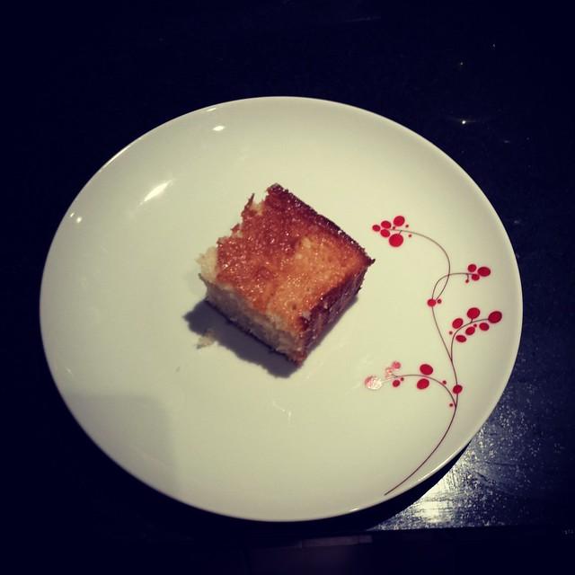Butter Mochi top