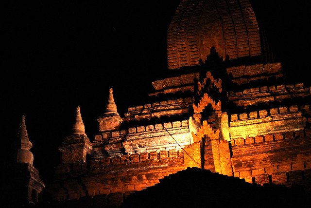 Pagoda by Night