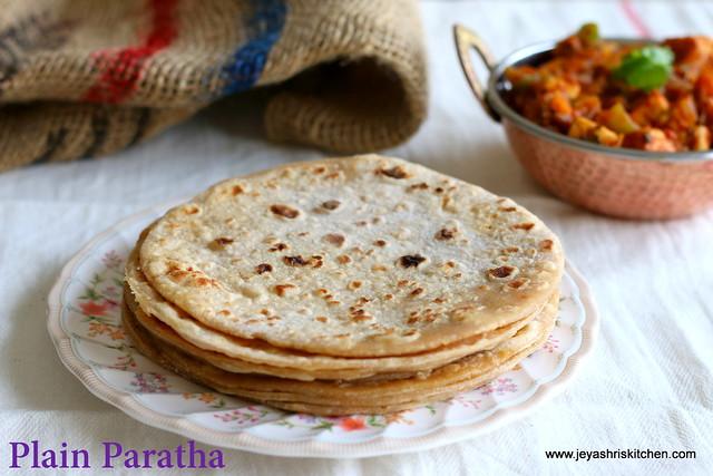 Plain-paratha