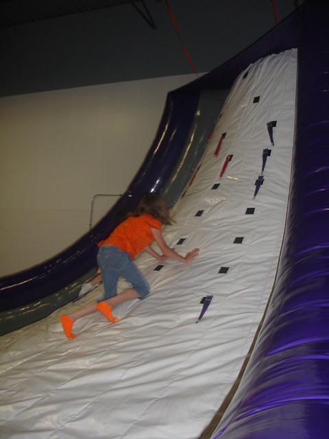 See? It's pretty steep!