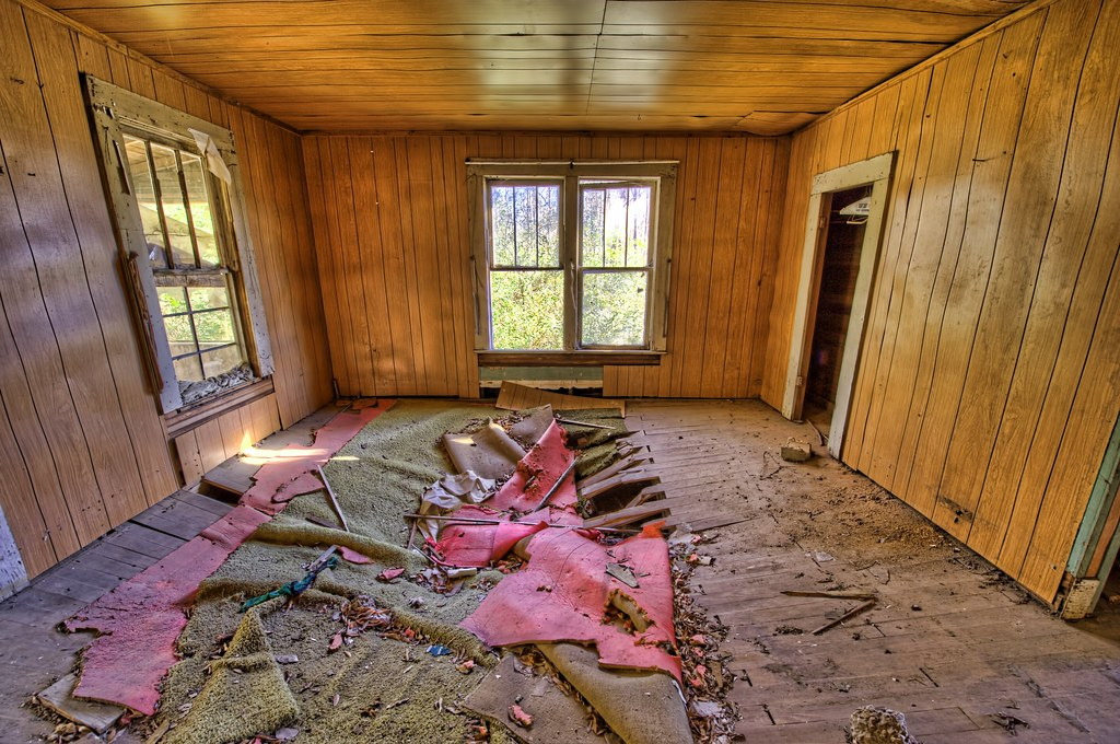 Abandoned House - Back Room