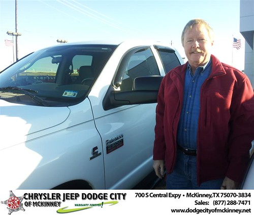 Happy Anniversary to Gary W Hamm on your 2008 #Dodge #Ram25 from Brent Villarreal  and everyone at Dodge City of McKinney! #Anniversary by Dodge City McKinney Texas
