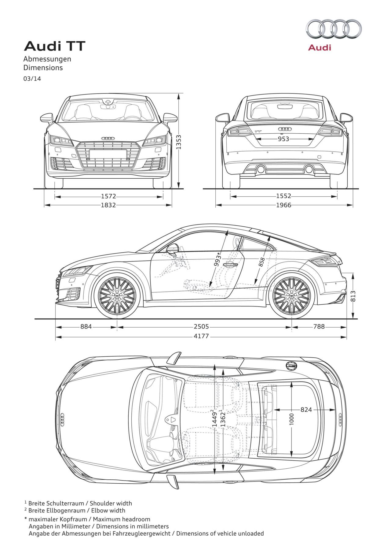 Audi Tt Mk3 8s