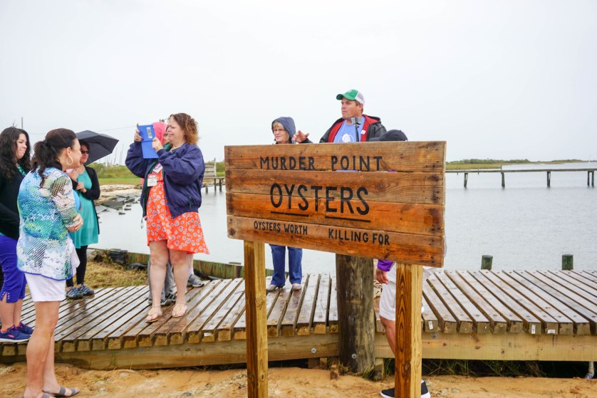 Murder Point Oyster Farm in Bayou la Batre, Ala., during - World Food Championships Blogger Summit, Orange Beach, Ala., Nov. 7 - 9, 2016