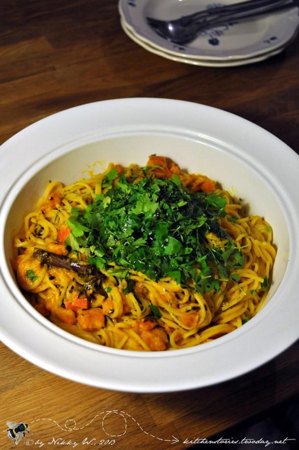 Pumpkin Spice Pasta 2