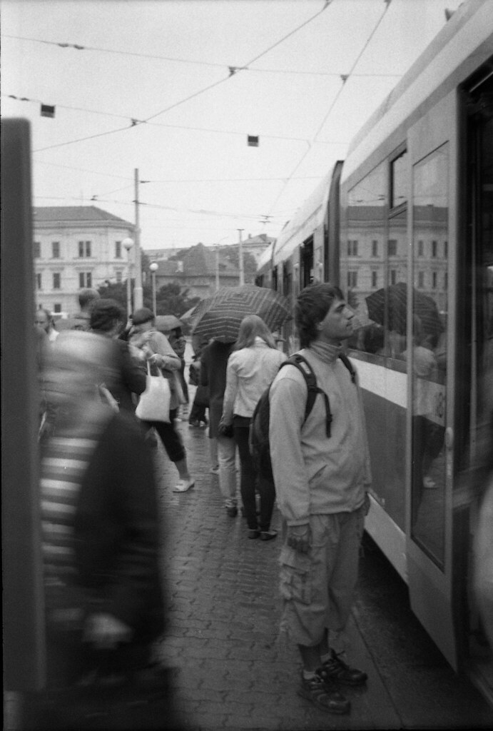 Smena 8M - New Scan - Tram Stop in Rainy Day 3
