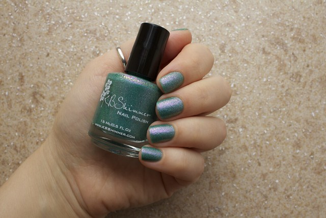 01 KBShimmer Teal Another Tail swatches