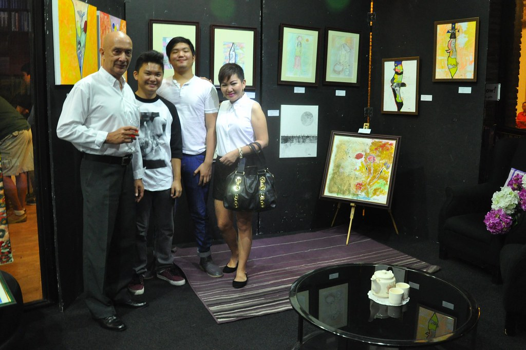 "Kairuz ""After Four Years"" art exhibit"