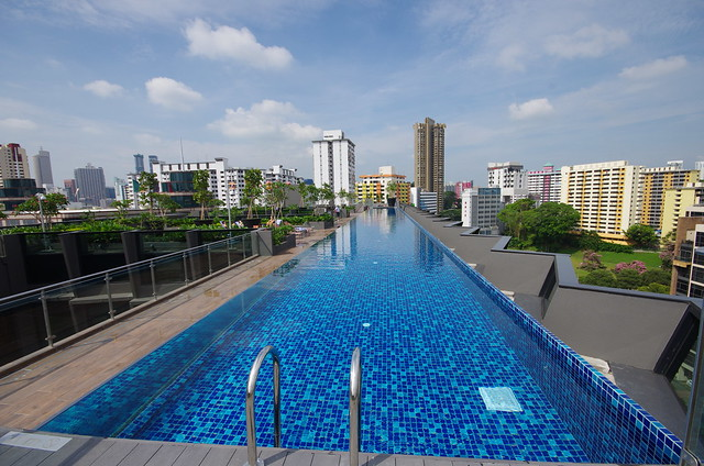 swimming pool - holiday inn express singapore clarke quay