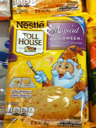 Nestle Toll House Magical Halloween Sugar Cookie Dough