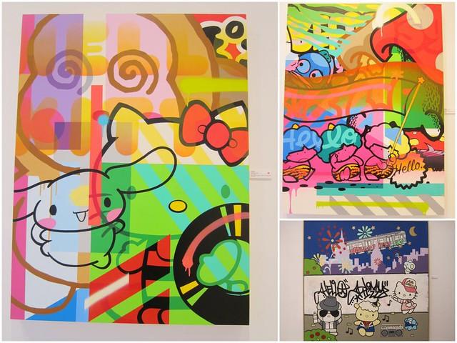 Pose - Aiko - Hello Kitty Artwork