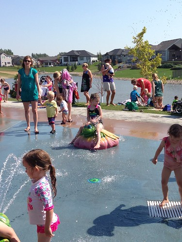 At Shadow Wood Splash Pad