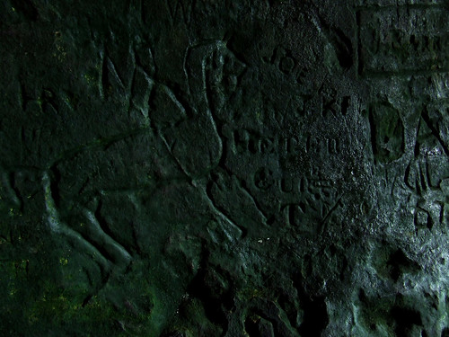 King's cave graffiti 5