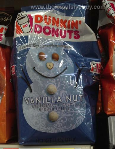 Dunkin' Donuts Vanilla Nut Coffee