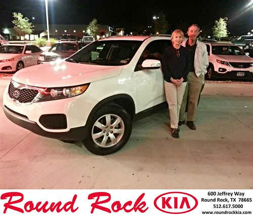 Thank you to Don & Shirley Myres on your new 2013 #Kia #Sorento from Kelly  Cameron and everyone at Round Rock Kia! #NewCarSmell by RoundRockKia