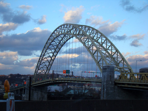Fort Pitt Bridge - Nov. 18th 2013