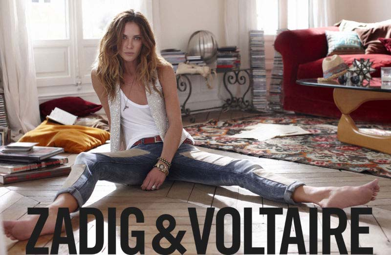 Erin Wasson, Zadig et Voltaire, 2012