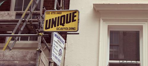 unique sign london