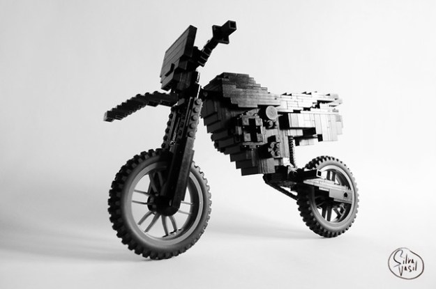 Lego Black Rebel Bike