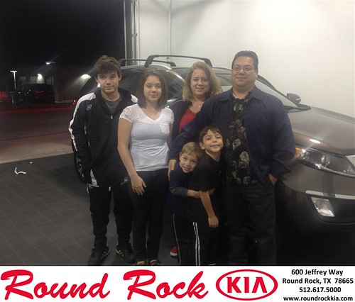 Thank you to Jose  Garcia on your new 2013 #Kia #Sportage from Bobby Nestler and everyone at Round Rock Kia! #NewCarSmell by RoundRockKia