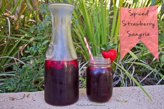 Spiced Strawberry Sangria