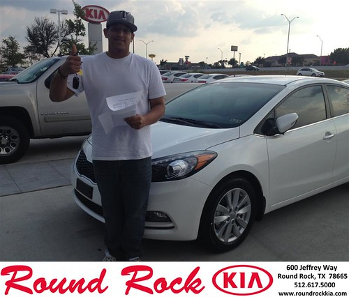 Thank you to David  Pace on your new 2013 Kia Optima from Derek Martinez and everyone at Round Rock Kia! by RoundRockKia