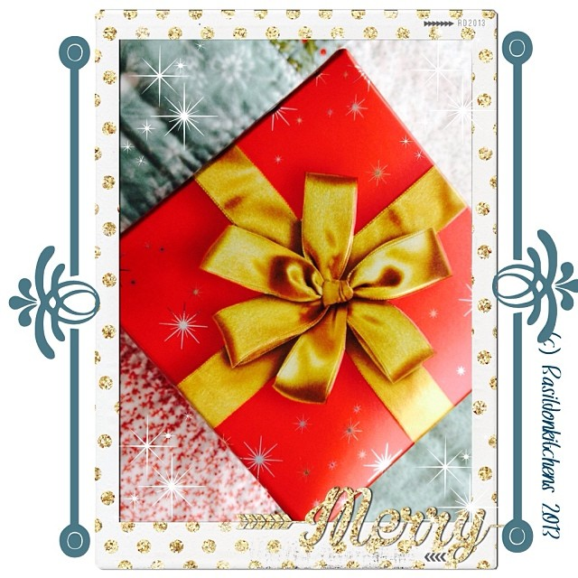 Dec 24 - wrapped {great things come in small packages} #fmsphotoaday #wrapped #christmas #holidays #gifts #ribbon #rhonnadesigns