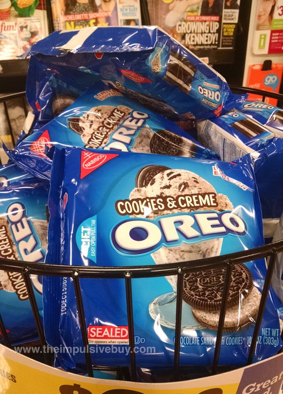 Limited Edition Cookies & Creme Oreo Cookies