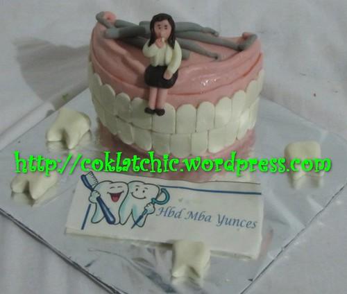 Cake Dokter Gigi Yunces Jual Kue Ulang Tahun