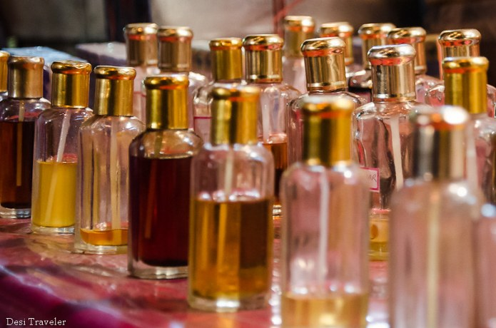 Attar Bottles Ramadan Night Market