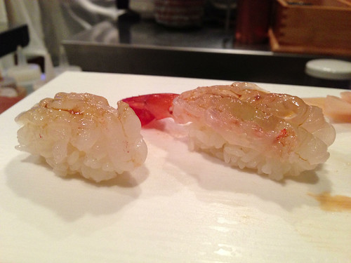 Shira Ebi (White Shrimp), Amaebi (Sweet Shrimp)