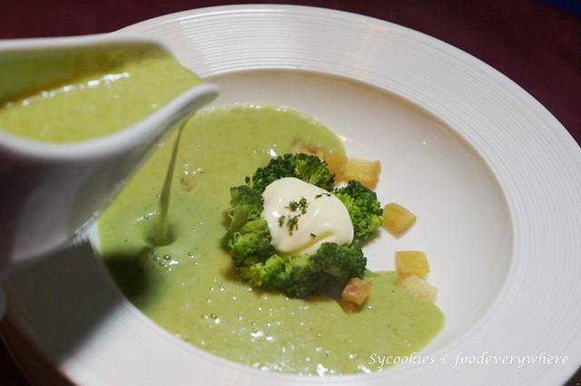 7.chulo -Cream of Broccoli Soup RM 12.80