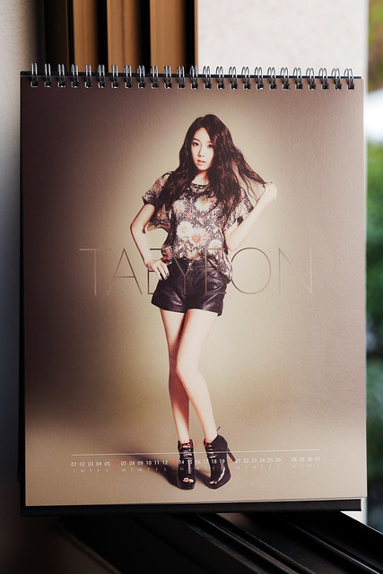 SNSD 2014 Calendar: Taeyeon