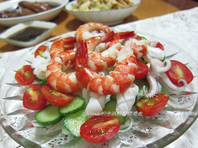 果香海鮮沙拉 (1)