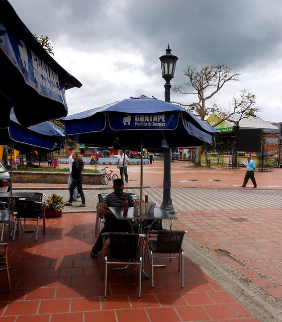 Cafe in Guatapé, Colombia