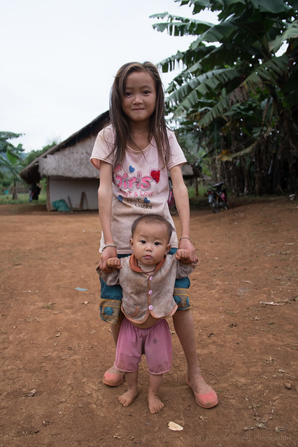 Hmong Village, Phon Savanh, Laos