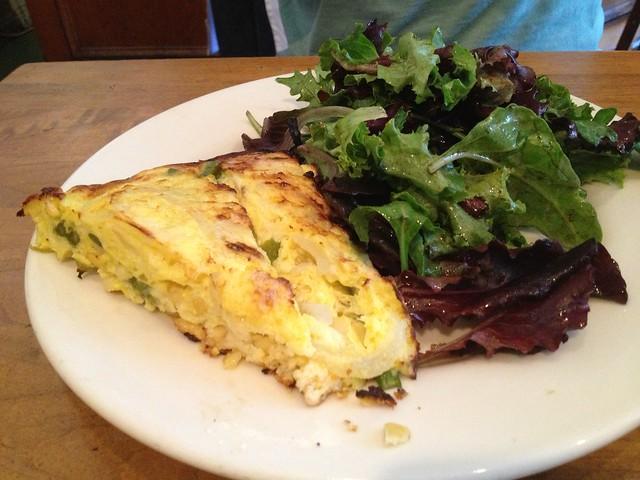 Seasonal frittata - Liberty Cafe