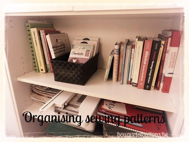 organising sewing patterns