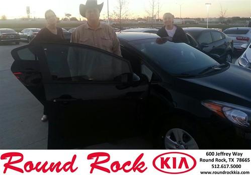 Congratulations to Jessica Harrell on your #Kia #Forte purchase from Fidel Martinez at Round Rock Kia! #NewCar by RoundRockKia