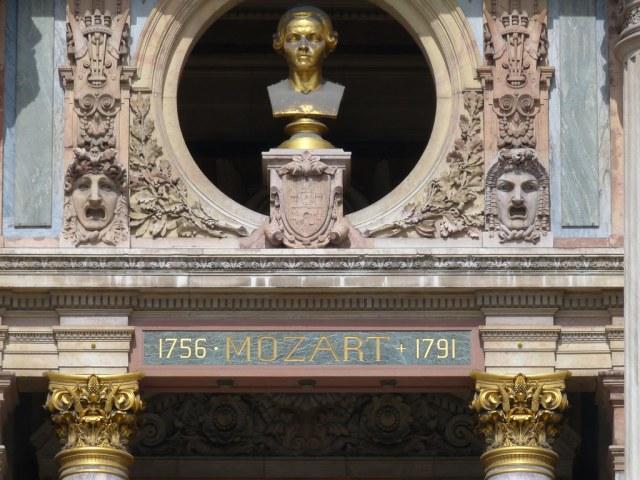 Opera Garnier façade detal