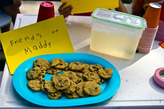 cookies and lemonade for sale