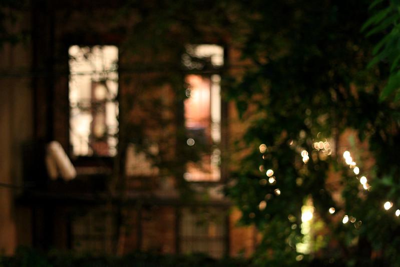 neighbors' lights
