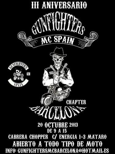 III Aniv. Gunfighters MC _ Barcelona