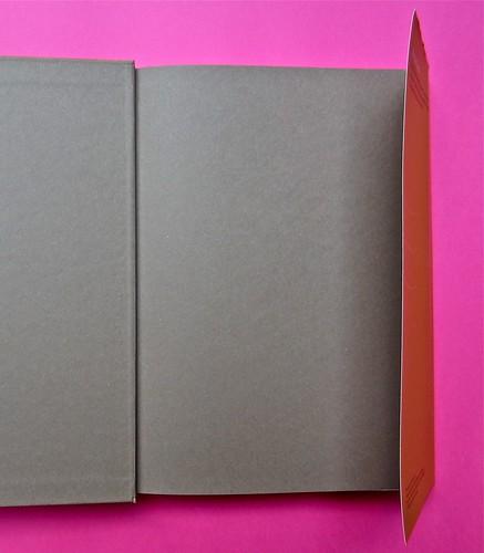 Michael Nedo (a cura di), Una biografia per immagini. Carocci 2013. Progetto grafico di Shoko Mugikura e Michael Nedo. Falcinelli & co. per l'ed. it. Carta di guardia, risvolto della quarta di sovracoperta (part.) 1