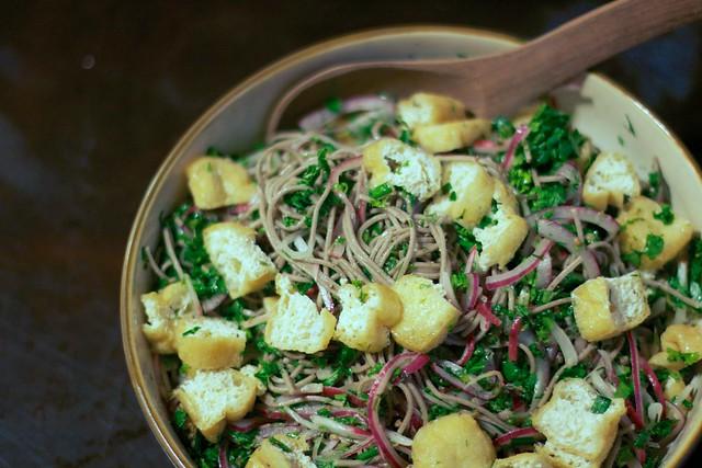 Coriander Soba Noodles 1