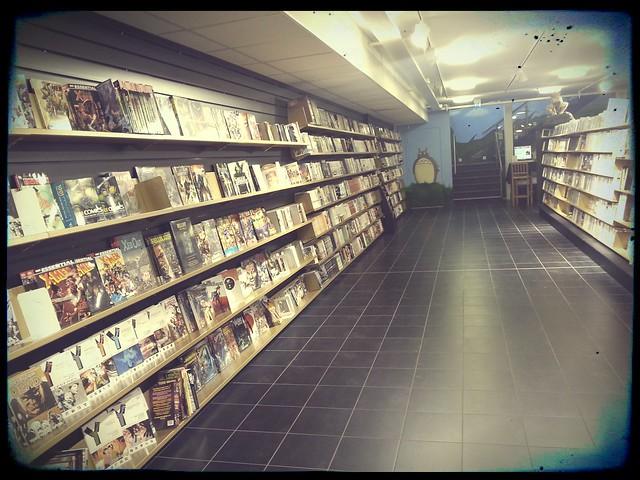 Science-fiction bokhandeln