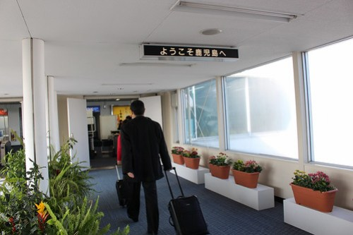 鹿児島空港に初上陸!